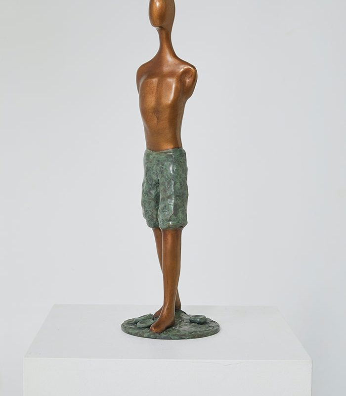 SOLD PROMISE-Jenny-Green-53x16x16cm-$5,950
